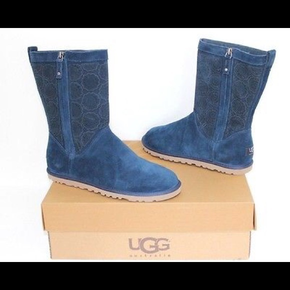 UGG Midnight Blue Mid Calf Boots
