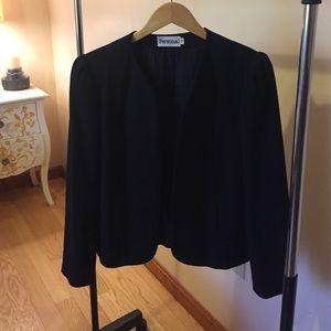 Personal  Jackets & Blazers - Personal size 10 Black wool jacket/blazer