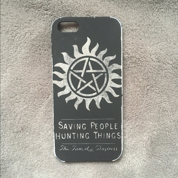 the latest 08475 f2558 Supernatural iPhone 5/5s Case