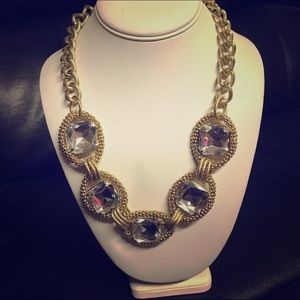 Chunky Gold Bling Necklace