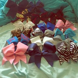 Other - cheer bows variety
