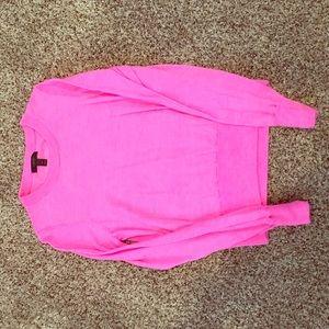 J Crew Pink Crewneck Sweater
