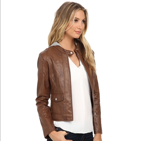 73% off Jack by BB Dakota Jackets & Blazers - BB Dakota Brown Tash ...