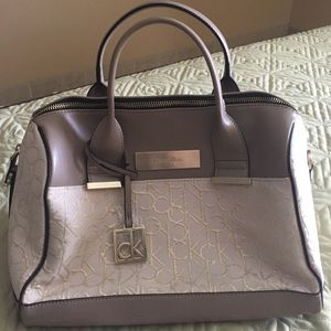 New without tag CalvinKlein Candice Lurex Handbag