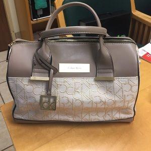 New without tag CalvinKlein Candice Lurex Handbag