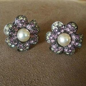☆☆ Vintage Kenneth Jay Lane earrings