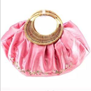 🌺WH/HP4-1 &3/16 Palle Pink Spring/Summer Satchel