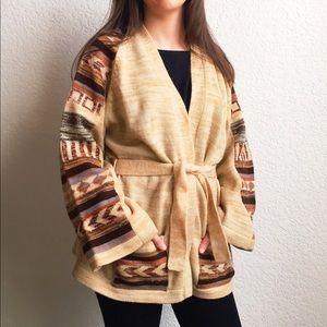 SALEVintage | Tribal Pattern Cardigan | HP