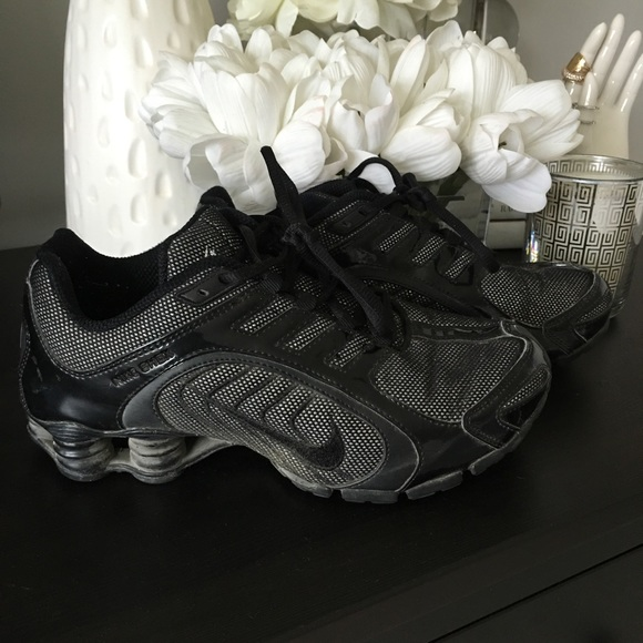 promo code 06a0b e75c7 Nike Shox Black Glitter Sneakers size 7.5. M 56eef9f513302ab67d05df77