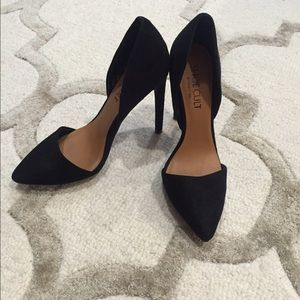 Shoe Cult - Nasty Gal- D'Orsay. Black heels - sz 6