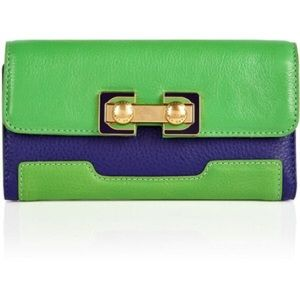 Marc By Marc Jacobs Colorblock Long Trifold Wallet