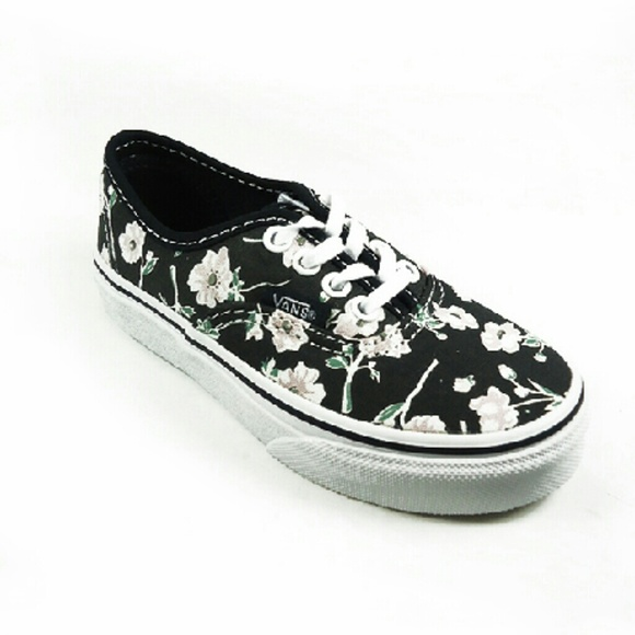 6a3da80fa013ac GIRLS YOUTH Vans Vintage Floral Authentic Shoe