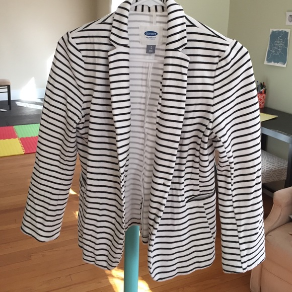 Old Navy Jackets & Coats - Old Navy striped knit blazer BUNDLE