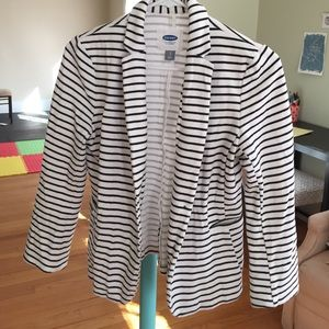 Old Navy Jackets & Blazers - Old Navy striped knit blazer BUNDLE