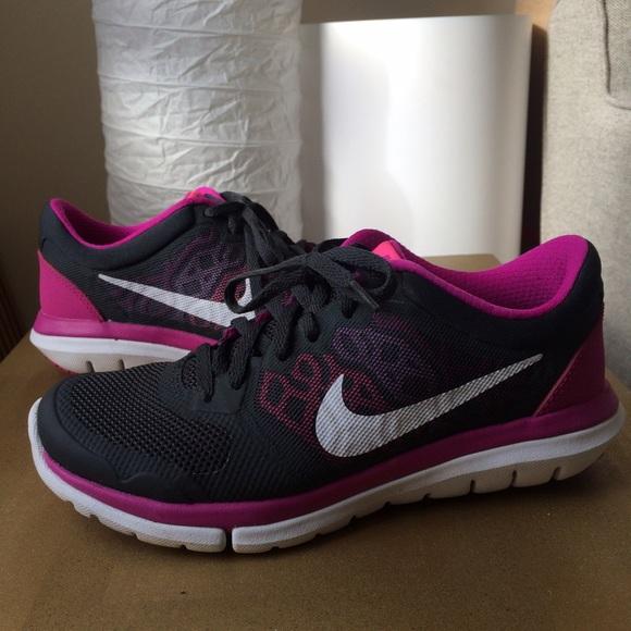 princesa equipaje Opcional  Nike Shoes | On Hold Size 55 Nike Flex Fitsole 25 Pinkgray | Poshmark
