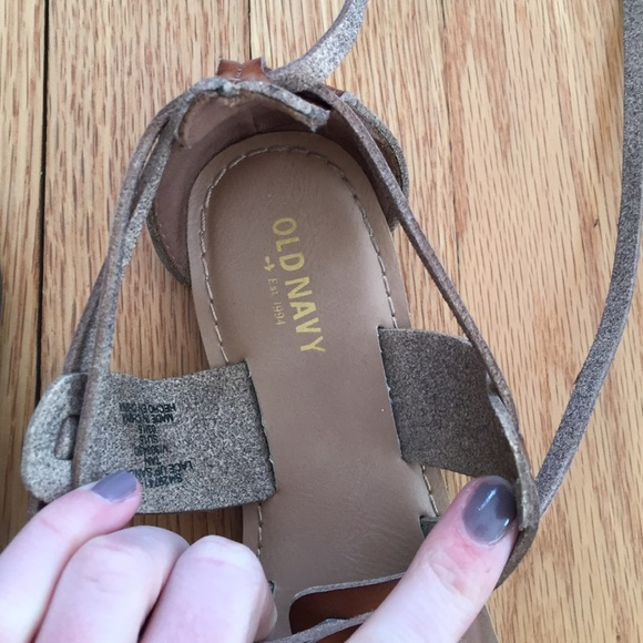 Old Navy Shoes - Old navy lace up sandals