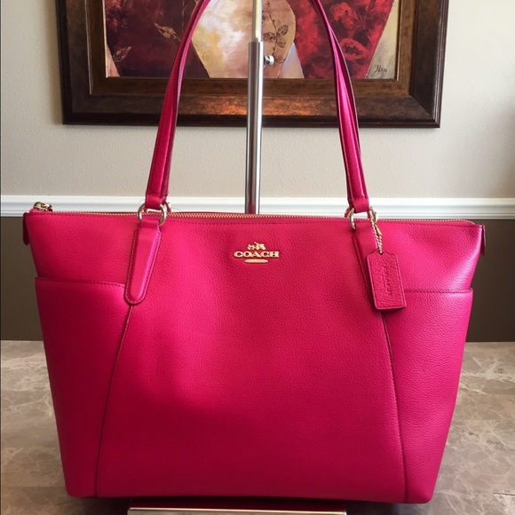 ab9d8d5bccad FINAL PRICE Coach Ava II Tote Bag Pink Ruby