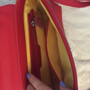 Bags - Red Miss Locker Bag!