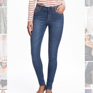 Old Navy Denim - Super Skinny Mid-Rise