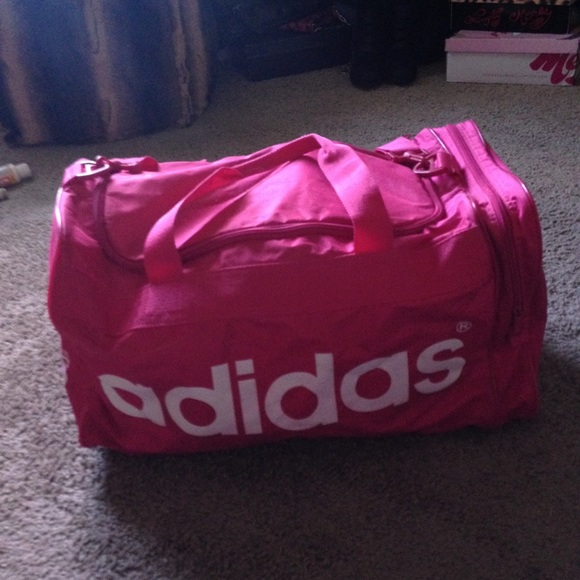 e859e421347a71 Adidas Handbags - Pink adidas gym bag
