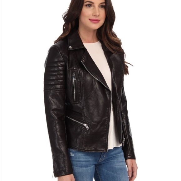 6a759c7bd Blank NYC faux leather jacket Boutique