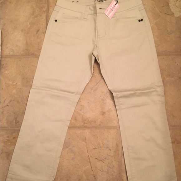 83% off CAbi Pants - Cabi Sand colored pants size 2 from Ivette's ...