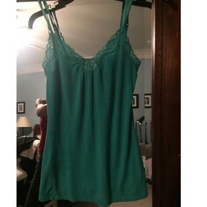 Emerald green camisole