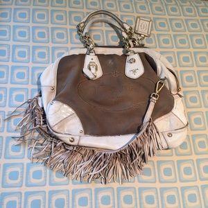 58% off Prada Handbags - ?? % AUTHENTIC NWT PRADA LEATHER LOGO ...