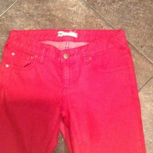 Free People two toned pants size 25