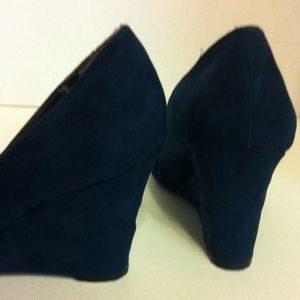 Nine West Shoes - Faux Suede Wedges