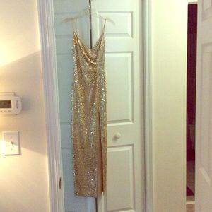 Gold Cache dress