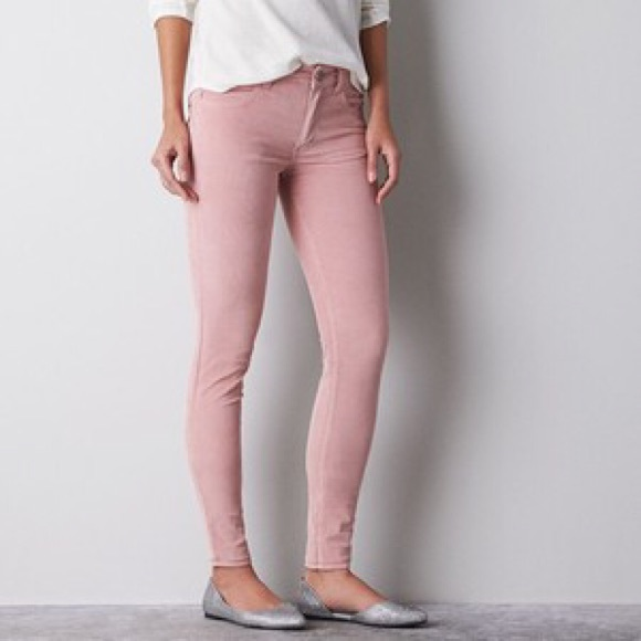 64% off American Eagle Outfitters Pants - Women's khaki corduroy ...