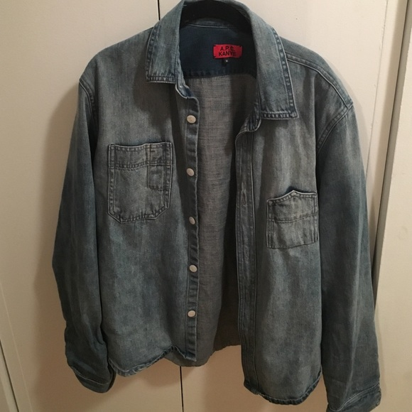 a42f4809a38 APC Jackets   Blazers - APC denim shirt