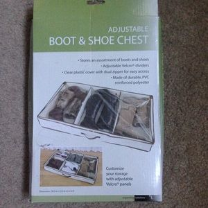 Accessories - Adjustable boot and shoe chest