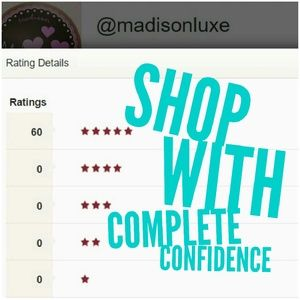 5-Star Fast Shipper = You Can Confidently Shop!