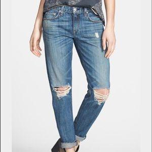 Rag and Bone for Intermix boyfriend cropped jeans
