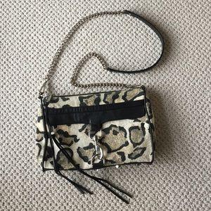 Rebecca Minkoff leopard MAC Clutch