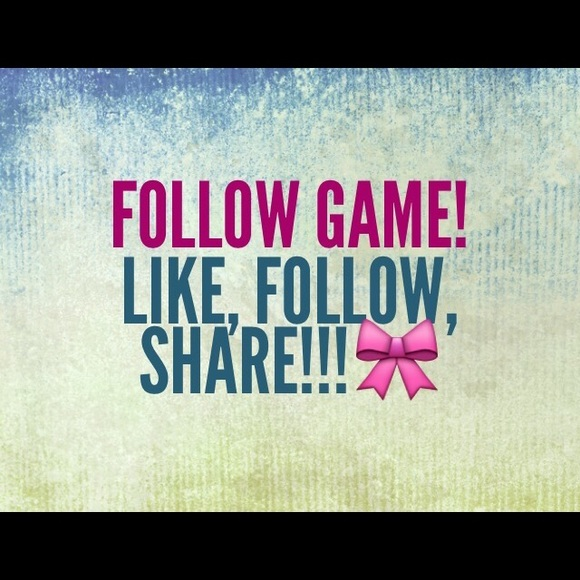 PINK Victoria's Secret Other - Follow game!🎀