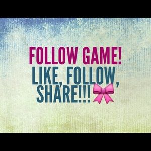 Follow game!🎀