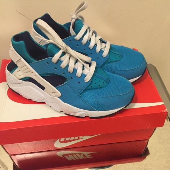 size 40 ece65 e0676 Nike Huarache Aqua Blue