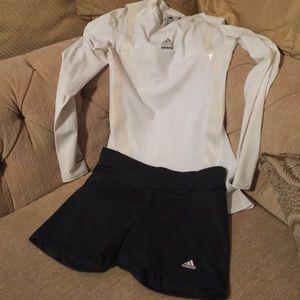Adidas short black and pink