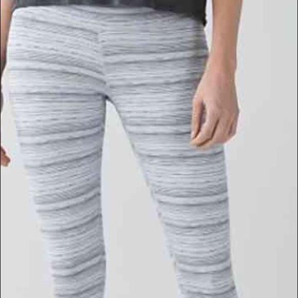 85f2345b94f58 lululemon athletica Pants - Lululemon High Times Wee Are fr Space Cyber  stripe