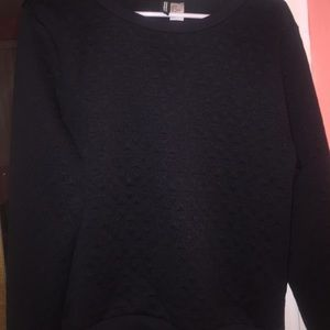 h&m divided long sleeve sweater