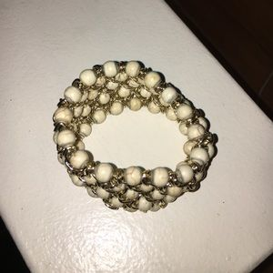 Accessories - Beaded gold costume bracelet