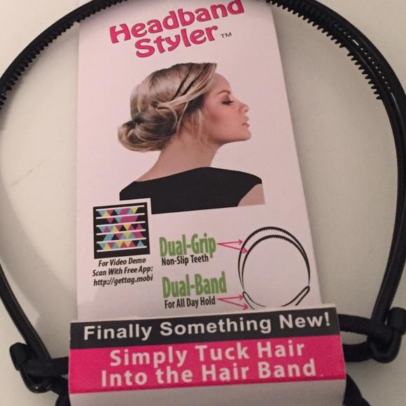 50 accessories headband styler from l s closet on poshmark