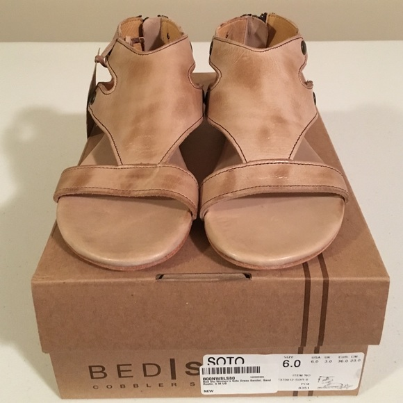 bed stu soto - nwt bed stu soto sand rustic sandal size 6 from