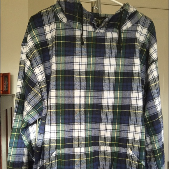 80% off Vermont Flannel Co. Tops - Flannel pullover from Rebecca's ...