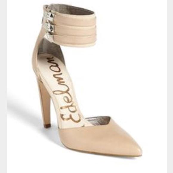 65b850abc71cbe SALE Price Firm BNWT Sam Edelman Nude Heels 6.5