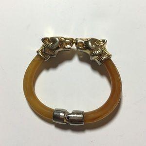 Vintage animal cuff bracelet