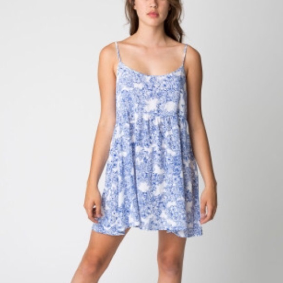 657b602c5034 American Apparel Dresses & Skirts - American Apparel Floral Print Babydoll  Dress 💙